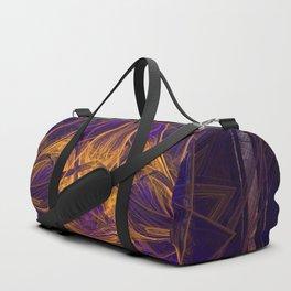 Fire Glow Raccoon Duffle Bag