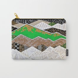 Rocky Mountains Wild (Green) - Landscape Carry-All Pouch