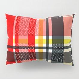 Lumberjack Retro red yellow Pillow Sham