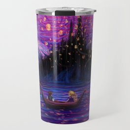 The Lantern Scene Travel Mug