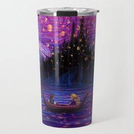 The Lantern Scene Travel Mug
