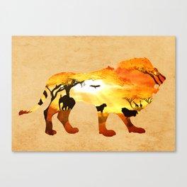 Thy Kingdom Canvas Print
