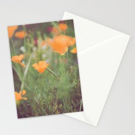 Golden Poppies II Stationery Cards