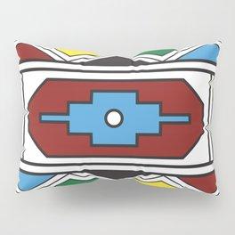 Ndebele Print Pillow Sham