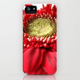 Red and White 2 iPhone Case
