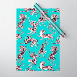 Bright Tigers Wrapping Paper