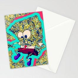 Spongbob Full of Magic School Bus Stationery Cards