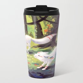 Follow Me Metal Travel Mug