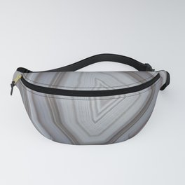Neutral tones agate Fanny Pack