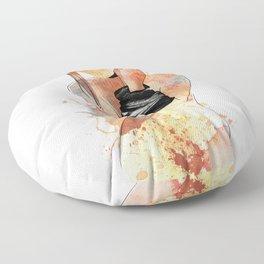 Shibari - Japanese BDSM Art Painting #5 Floor Pillow