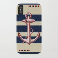 anchors iPhone & iPod Cases featuring Anchors by Katherine Marshall