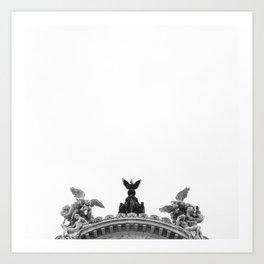 Minimal City III Art Print