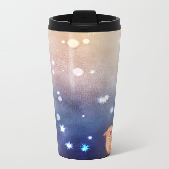 bird-181 Metal Travel Mug
