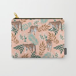 Tigers. Delicate pttern Carry-All Pouch