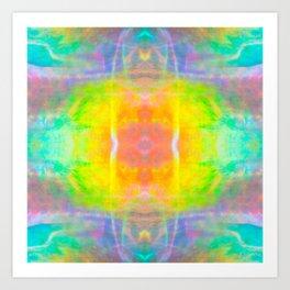 Prisms Play of Light 1 Mandala Art Print
