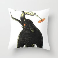 drums Throw Pillows featuring Mammoth Drums! by splendidhand
