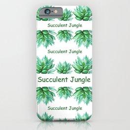 succulent echeveria iPhone Case