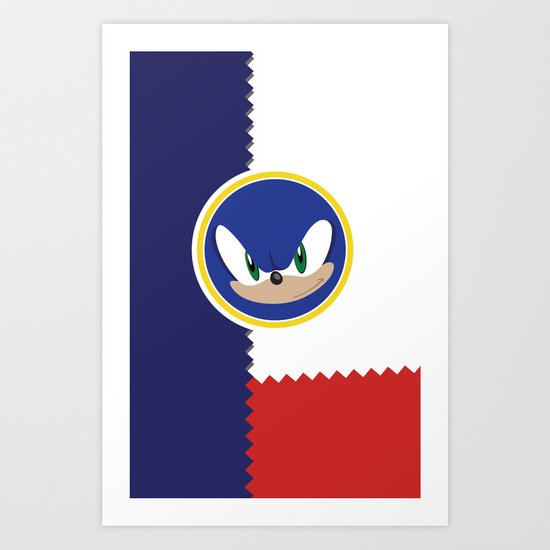 Windy Hill Zone Art Print