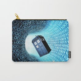 Tardis Time lord Carry-All Pouch