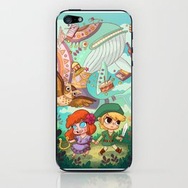Link and Marin iPhone Skin