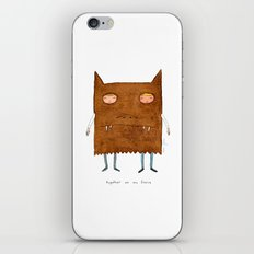 together we are fierce iPhone & iPod Skin