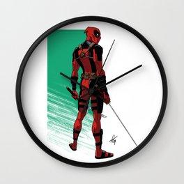 Saint in sandals Wall Clock
