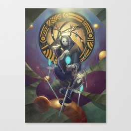 The Dreamteller of Dejavu Canvas Print