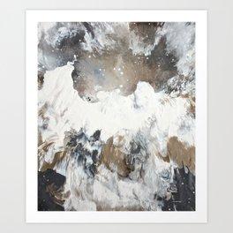 """""""Dove in Flight"""" Art Print"""