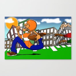 Run Faster.... Canvas Print