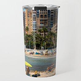 Torrevieja beach in Summer Travel Mug