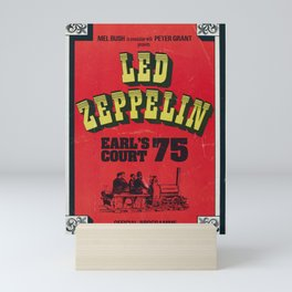 Zeppelin - Vintage Earls Court 1975 Mini Art Print