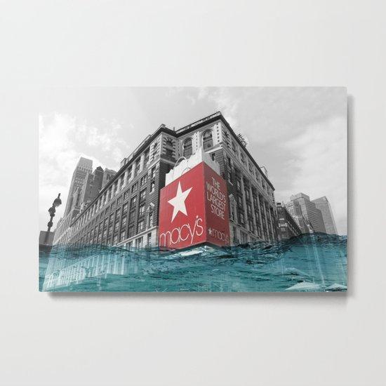 Macy's water line Metal Print