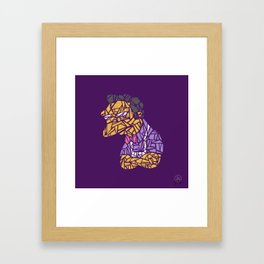 Moe(saic) Framed Art Print