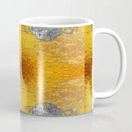 Golden foil and concrete Coffee Mug