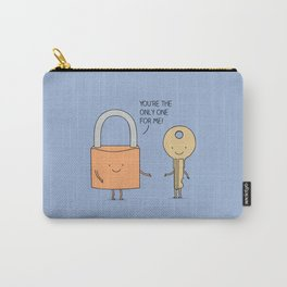 Lock and key Carry-All Pouch