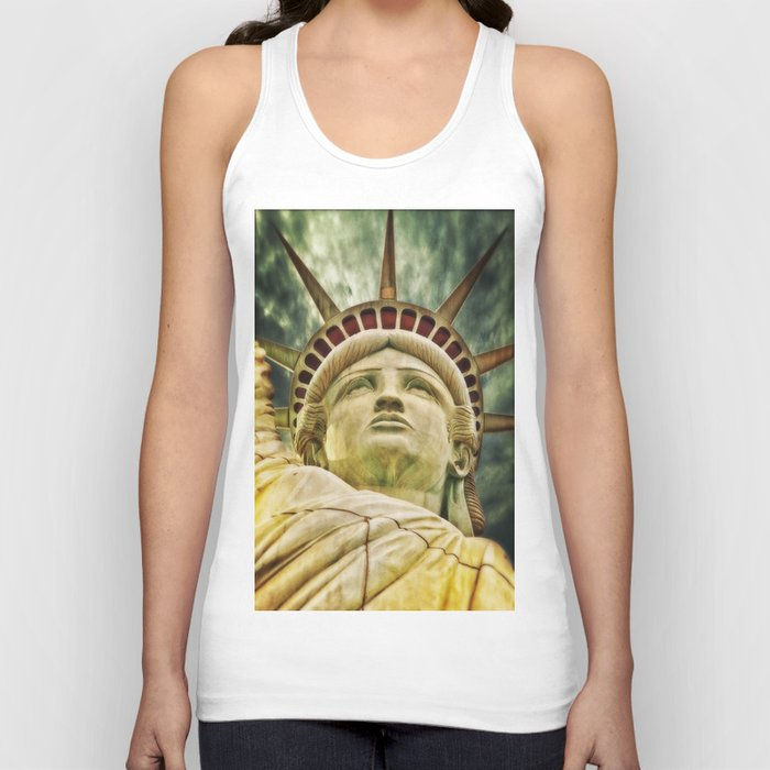 Statue of Liberty 4 Unisex Tank Top