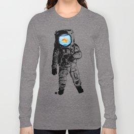 Goldfish Astronaut Long Sleeve T-shirt