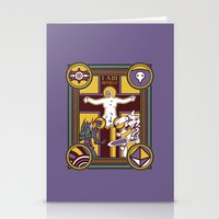 evangelion Stationery Cards featuring Illuminated Evangelion by C. A. Neal