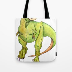 Mike is having an awkward moment. Tote Bag