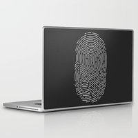 wwe Laptop & iPad Skins featuring Fingerprint by eARTh