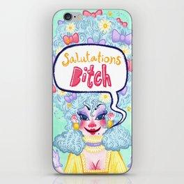 Salutations Bitch! iPhone Skin