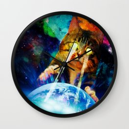 Cat Invasion Wall Clock