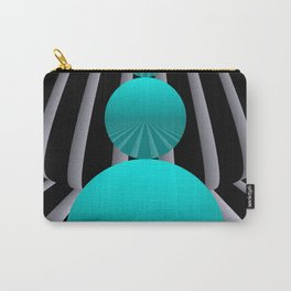 go turquoise -3- Carry-All Pouch