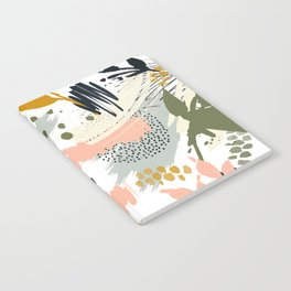 Abstract strokes still life Notebook