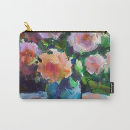 Roses and Fruits Carry-All Pouch