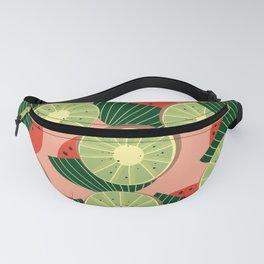 Watermelons and kiwis Fanny Pack