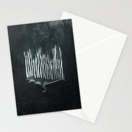 zebrex - the tyrex who wanted to become a zebra  Stationery Cards