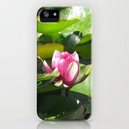 Nymphaea lotus iPhone Case