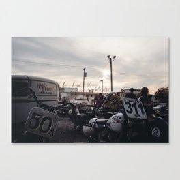 The Race of Gentlemen 26 Canvas Print