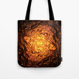 Red Hot Lava Tote Bag